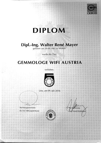 Gemmologe WIFI Austria