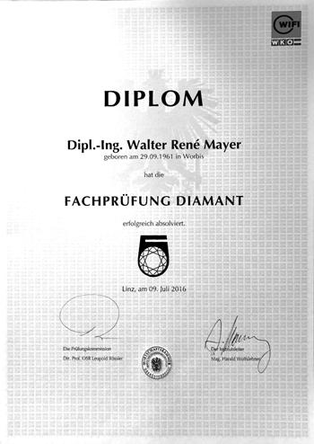 Fachprüfung Diamant